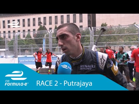 Sebastien Buemi Putrajaya ePrix post-race interview