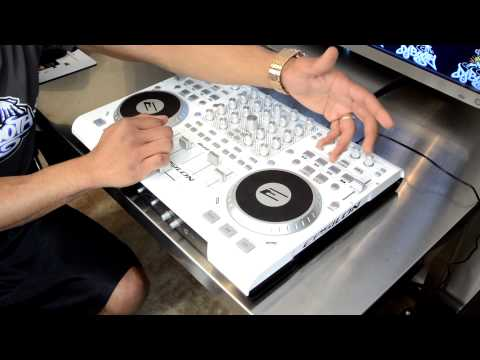 Epsilon Quad-Mix Four Channel Digital DJ Controller Review Video