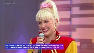 Sósia holandesa de Xuxa revela sonho de conhecer a apresentadora
