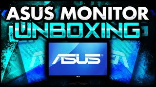 """Asus - 23"""" Widescreen LED Monitor UNBOXING (Best Monitor for Gaming)"""