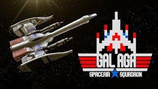 Galaga HD Space Battle
