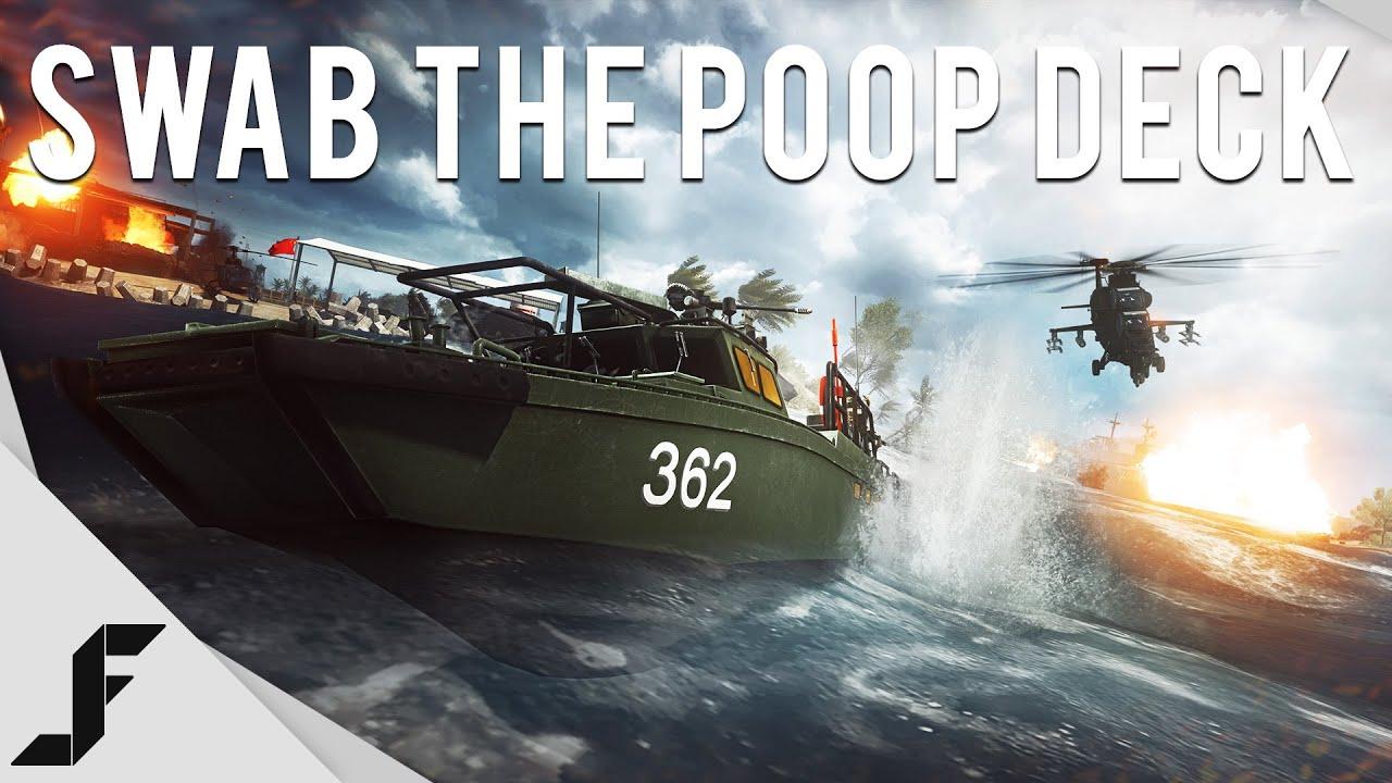 Swab Deck Swab The Poop Deck