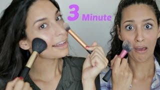 3 MINUTE MAKE UP CHALLENGE mit meiner SCHWESTER & MAMA!