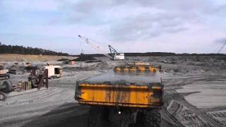 Volvo A40F Hauling Wet Sand