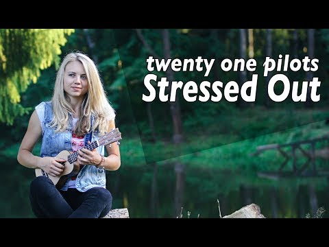 Как играть  twenty one pilots - Stressed Out (ukulele)