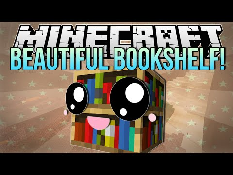 BEAUTIFUL BOOKSHELF | Minecraft: Hide N Seek Minigame!
