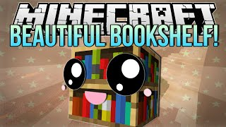 BEAUTIFUL BOOKSHELF | Minecraft: Hide N Seek Minigame!
