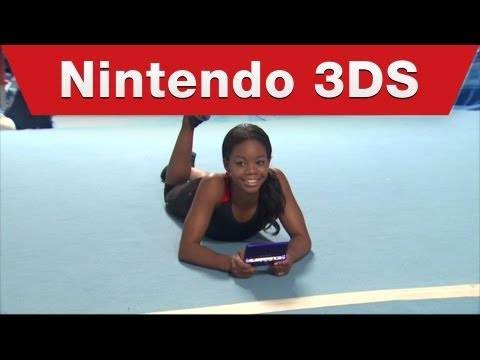 Nintendo 3DS – Gabrielle Douglas Goes For a Different Kind of Gold in New Super Mario Bros. 2