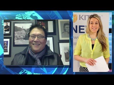Gold & Silver Are Real Money:  Rich Dad's Kiyosaki - Kitco News