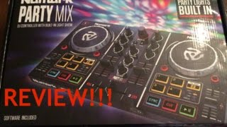 NUMARK PartyMix w Lights DJ Controller REVIEW