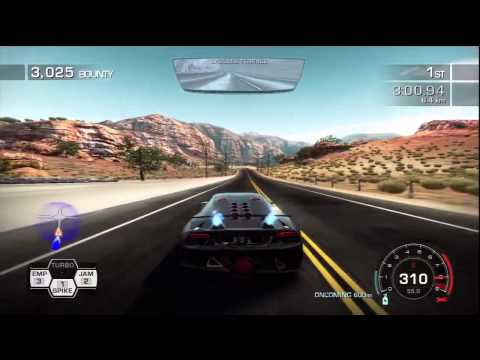 NFS Hot Pursuit: Lamborghini Sesto Elemento Gameplay