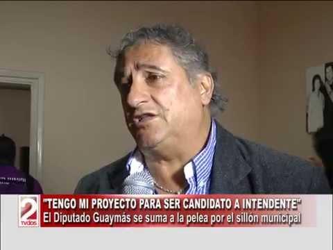 """TENGO MI PROYECTO PARA SER CANDIDATO A INTENDENTE"": JORGE GUAYMAS-TV DOS SALTA"