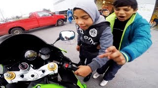 Funny, Crazy & Weird Things Bikers See, Say & Do 2017 [Ep.#14]