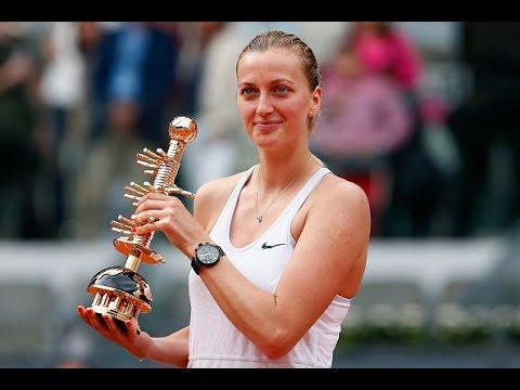2015 Mutua Madrid Open Final WTA Highlights | Petra Kvitova vs Svetlana Kuznetsova