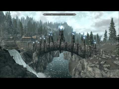 Magical Dragon Bridge : Skyrim Mod Reviews