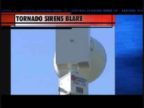 OviedoTornado Sirens Test and Debat Over Tornado Sirens in Centrial Florida