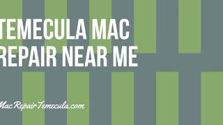 Temecula Mac Repair Near Me - System & Data Security