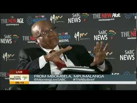 President Zuma's TNA breakfast address on January 8 statement
