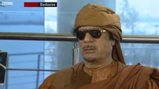 FUNNY Gaddafi - What's the question? (original) HQ