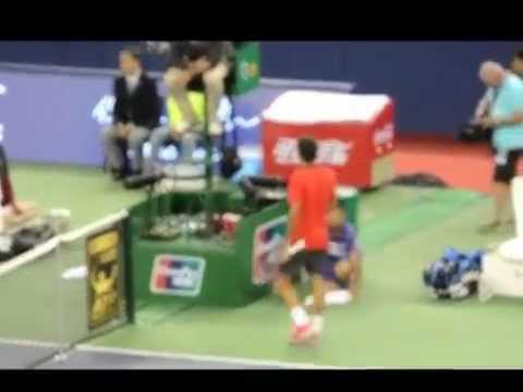 Roger Federer Shanghai Masters 2014 amateur vid