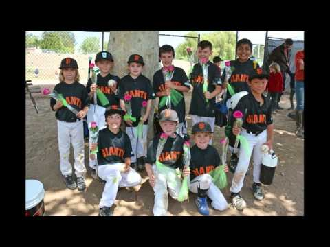 Thousand Oaks Little League Giants Game - Mother's Day 2015