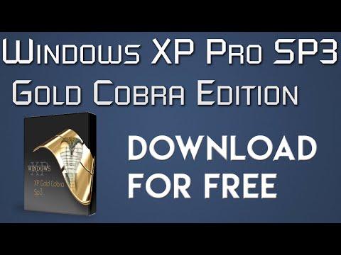 Download Windows XP Pro SP3 Gold Cobra Edition