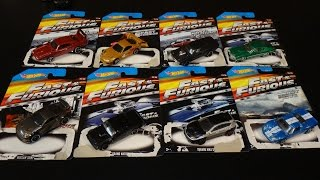 Fast and Furious Wal-Mart Exclusive Car Set - 2015 - Hot Wheels