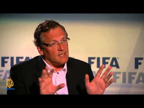 Talk to Al Jazeera - Jerome Valcke: 'FIFA is not the UN'