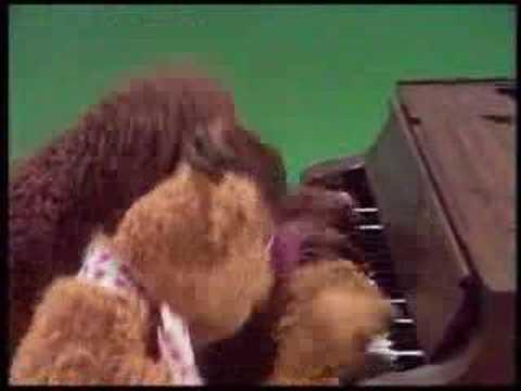 Fozzie Bear and Rowlf the Dog