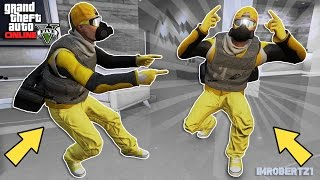 GTA 5 Tryhard Modded Outfits Tutorial Yellow-Gunrunning! GTA 5 Best Clothing (GTA 5 Glitches)