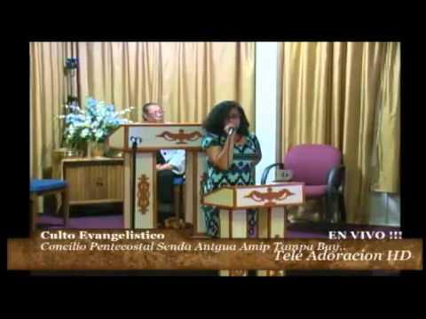Culto Evangelistico Concilio Pentecostal Senda Antigua AMIP Tampa Bay.08-16-2015