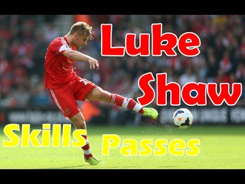 Luke Shaw ● New Red Devils In Future || Skills, Passes|| Video By TNL510