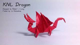 Origami Knl Dragon (robert J. Lang)