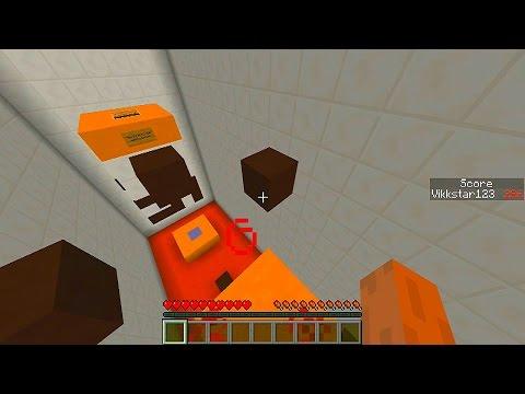 Minecraft PARKOUR CHALLENGE - 40 JUMPS PARKOUR MAP with Vikkstar