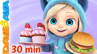 🍰 Happy Birthday Song and More Nursery Rhymes by Dave and Ava | Kids songs 🍰