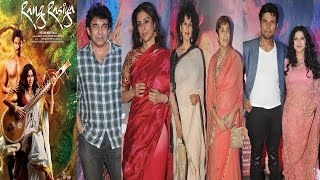 Tabu and Manisha Koirala And Other Celebs At Premiere Of Movie Rang Rashiya