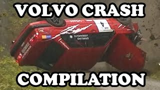 Volvo Rally Crash Compilation