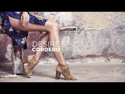 Desire Cordero presenta la nueva colección de Spring Summer 2018 - Alpe Woman Shoes