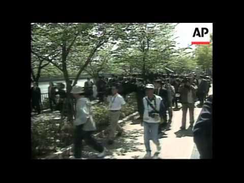 Former Taiwan President Lee Teng-hui visiting sites in Japan