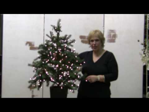 Proper Way To String Lights On A Christmas Tree : Christmas Tree Lights--How To Put Them On - YouTube