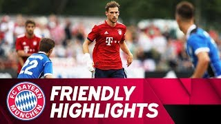 Lots of Goals at Tegernsee | FC Rottach-Egern vs. FC Bayern 2-20 | All Goals and Highlights