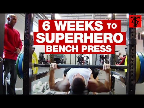 6 Weeks to Superhero Bench Press Image 1