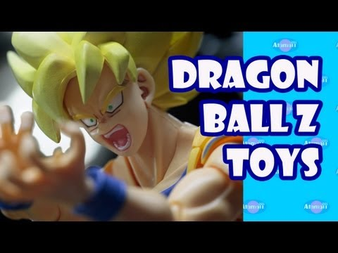 Dragonball Z Bandai Tamashi Nations Toy Fair Preview 2013 video