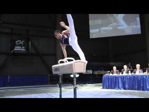 C.J. Maestas - Pommel Horse - 2012 Winter Cup Finals