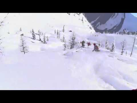 Liquid Image Summit Series HD Video Goggle 335   Heli Skiing in the Bugaboos