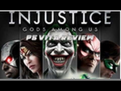 Injustice Gods Among Us Ultimate Edition PS Vita Review HD