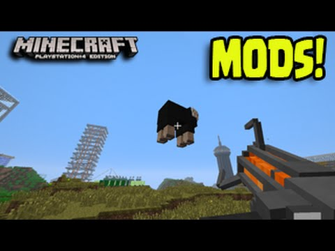 Minecraft PS3, PS4, Xbox - MOD PACKS Title Update PC Console Mods!