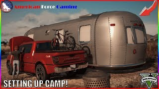 SETTING UP THE NEW CAMPING SPOT! - FIVEM