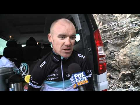 Stage 18:  Stuart O'Grady - 2011 Tour de France  -