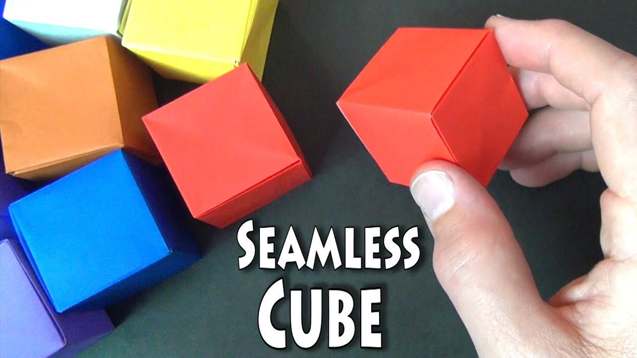 How to Fold Origami Paper Cubes  Pinterest
